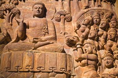 IN08201 India, West Bengal, Darjeeling, Japanese Peace Pagoda built by Nipponzan Myohoji Organisation