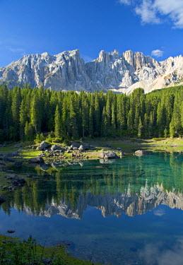 IT06247 Karersee (Lago di Carezza), Dolomites, Trentino-Alto Adige, Italy