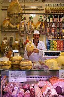 IT12099 Local Man and Cheeses, Sassari, Sardinia, Italy