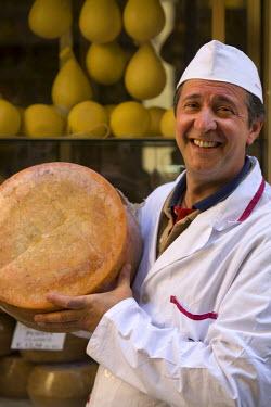 IT12100 Local Man and Cheeses, Sassari, Sardinia, Italy