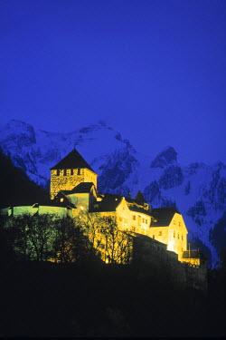 CH03021 Castle, Vaduz, Liechtenstein