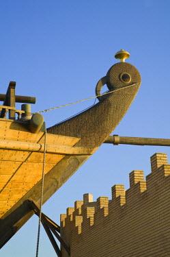KW01032 Kuwait, Kuwait City, Al-Hashemi Marine Museum- Al-Hashemi II - World's Largest Wooden Boat