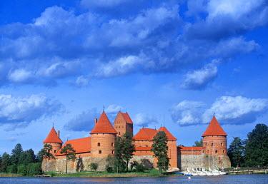 LT01001 Trakai Island and Castle nr. Vilnius, Lithuania