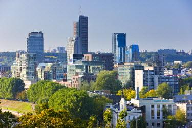 LT01034 Lithuania, Vilnius, city skyline