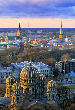 LV01018 Orthodox Cathedral, Riga, Latvia