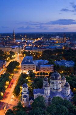 LV01033 City Skyline, Riga, Latvia