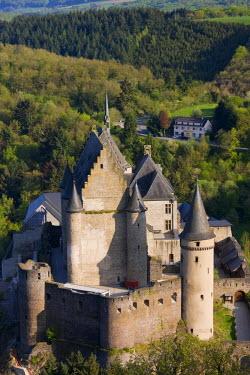 LX01023 Luxembourg, Vianden, Vianden Chateau