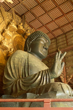 TPX2191 Todaiji Temple / Great Buddha Vairocana (Daibutsu), Nara, Honshu, Japan