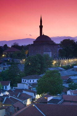 ME01031 Macedonia, Skopje, Mustafa Pasha Mosque