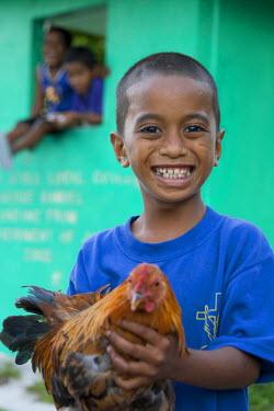 MH01009 Local Child, Laura Village, Majuro Atoll, Marshall Islands