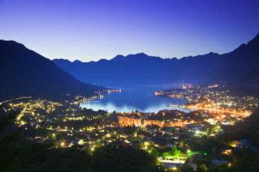 MR01040 Montenegro, Kotor, Bay of Kotor, Southern Europes Deepset Fjord