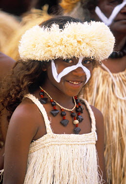 NC01001 Wetr dancer, Lifou, The Loyalty Islands, New Caledonia