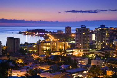 NC01060 New Caledonia, Grande Terre Island, Noumea, Hotels on Anse Vata resort area