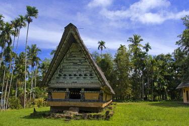 MI01010 Airai Bai (traditional old meeting house for men), Koror, Palau, Micronesia