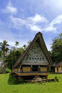 MI01011 Airai Bai (traditional old meeting house for men), Koror, Palau, Micronesia