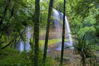 MI01017 Ngardmau Waterfall, Babeldaob, Palau, Micronesia