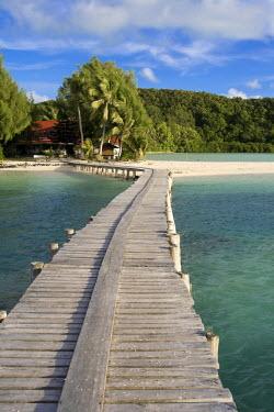 MI01019 Jetty, Carp Island Resort, Palau, Micronesia