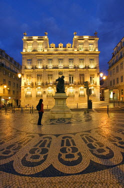 PT01182 Cameos Square, Chiado Bairro Alto, Lisbon, Portugal