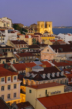 PT01188 Se Patriarchal (cathedral) & Baixa, Lisbon, Portugal