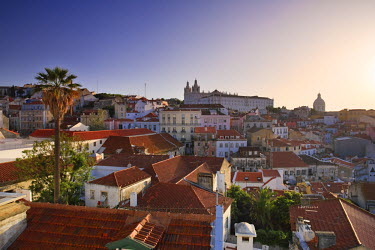 PT01207 Sao Vicente de Fora Church and Alfama District, Lisbon, Portugal