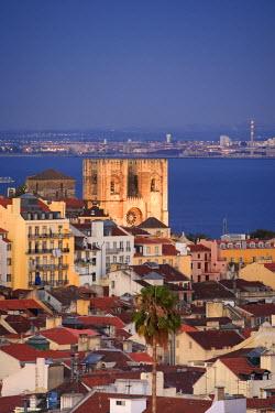 PT01220 Baixa distric and Sé (Cathedral), Lisbon, Portugal