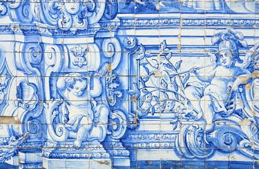 PT05104 Cathedral cloisters, Porto (Oporto), Portugal