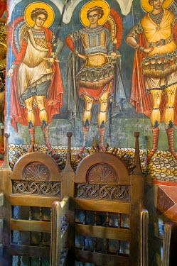 RM01068 Icons, Moldovita monastery, Bucovina, Romania