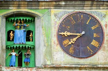RM01072 Clock tower, Sighisoara, Transylvania, Romania