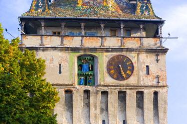 RM01130 Clock tower (Turnul cu Ceas), Sighisoara, Transylvania, Romania