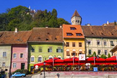 RM01138 Medieval Old Town, Sighisoara, Transylvania, Romania