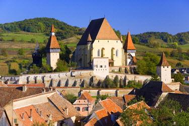 RM01142 15th Century fortified Church, Biertan, nr. Sighisoara, Transylvania, Romania