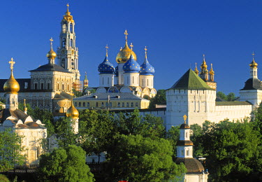 RU01248 Segiy Larva Cathedral, Sergiev Posad, Golden Ring, Russia