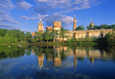 RU01249 Novodevichy Monastery, Moscow, Russia
