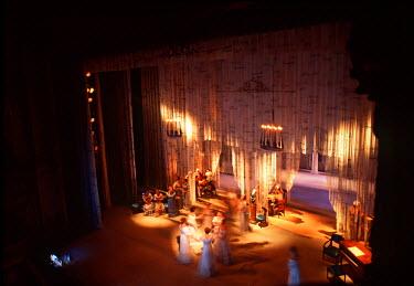 RU02119 Opera performance, Maly Theatre, St. Petersburg, Russia