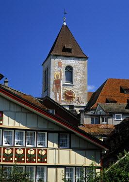 CH03154 Church, Appenzell, Appenzellerland, Switzerland