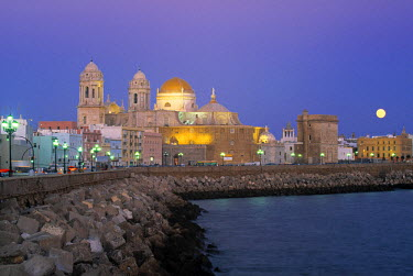 ES05085 The Church Of Santa Cruz, Cadiz, Spain
