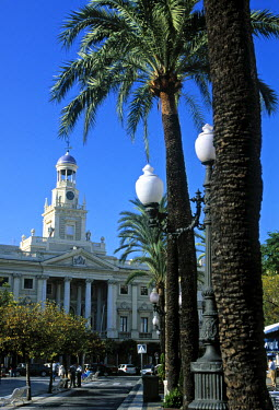 ES05087 Palace of Congress, Plaza San Juan De Dios, Cadiz, Spain