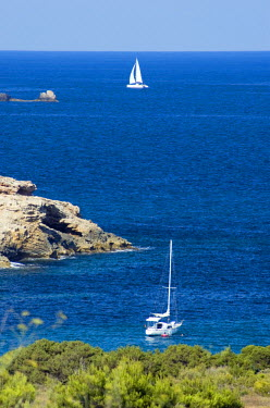 ES08083 Sailing Boat, Talamanca, Ibiza, Spain