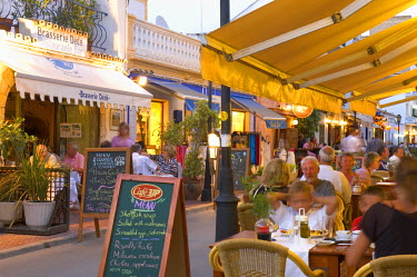 ES08084 Cafes and Restaurants, Santa Eularia, Ibiza, Spain