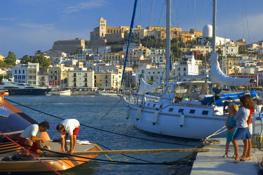 ES08087 Port, Ibiza Town, Ibiza, Spain
