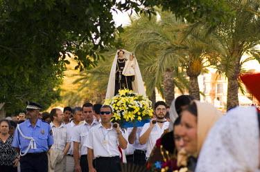 ES08094 Virgen del Carmen procession, San Antonio, Ibiza, Spain