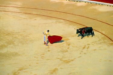 ES11036 The Corrida, San Fermin Festival, Pamplona, Navarra, Spain