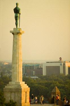 SB01007 Statue of Pobednik, Kalemegdan, Belgrade, Serbia