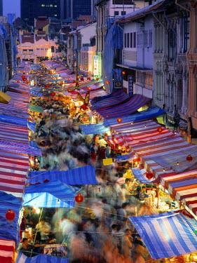 SP01066 Street Market, China Town, Singapore