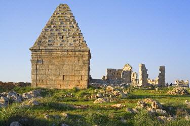 SY01030 Roman pyramidal tomb, al-Bara, Syria