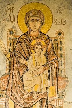 SY01056 Mosaics, Seidnaya, Syria