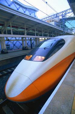 TPX11078 Taiwan, Kaohsiung, High Speed Rail, HSR Train