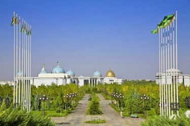 TR01021 Turkmenistan, Ashgabat, (Ashkhabad), Govenment Palace