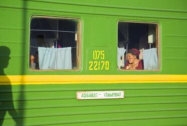 TR01027 Turkmenistan, Ashgabat, (Ashkhabad), Train
