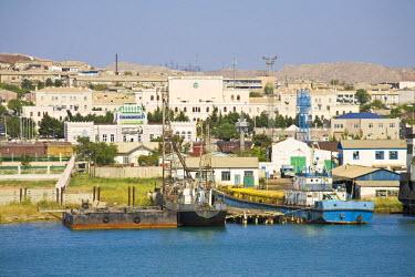TR01028 Turkmenistan, Turkmenbashi, Caspian Sea coast